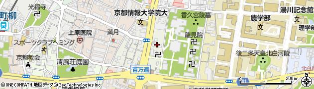 琢窓院周辺の地図