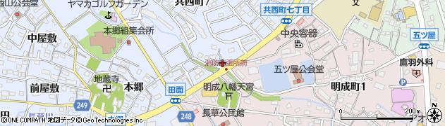 カラオケ喫茶エール周辺の地図