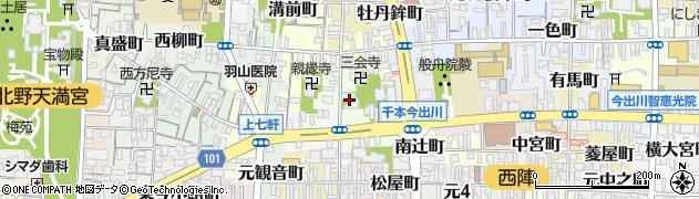 燈明寺周辺の地図