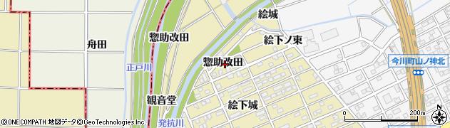 愛知県刈谷市泉田町(惣助改田)周辺の地図