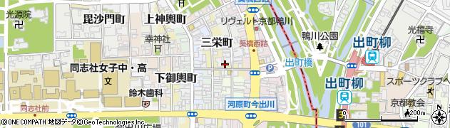 京都府京都市上京区二神町周辺の地図