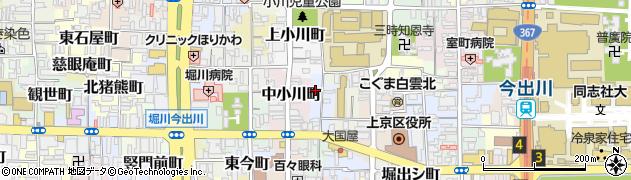 京都府京都市上京区北兼康町周辺の地図