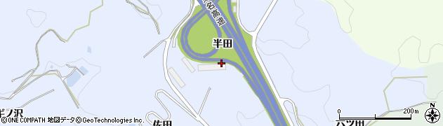 愛知県岡崎市宮石町(半田)周辺の地図