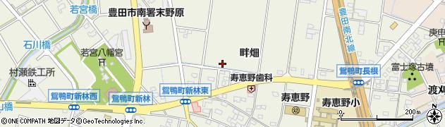 愛知県豊田市鴛鴨町周辺の地図