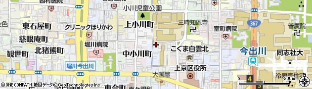京都府京都市上京区近衛殿表町周辺の地図
