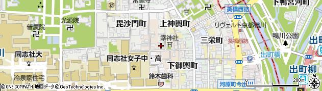 京都府京都市上京区幸神町周辺の地図