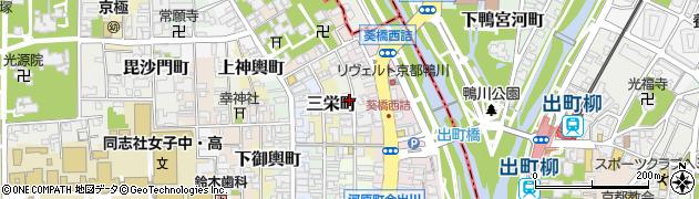 京都府京都市上京区相生町周辺の地図