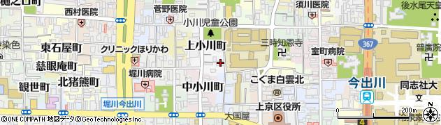 京都府京都市上京区近衛殿北口町周辺の地図