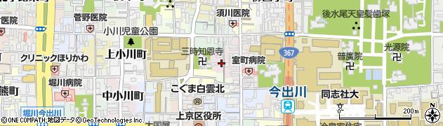 京都府京都市上京区瓢箪図子町周辺の地図