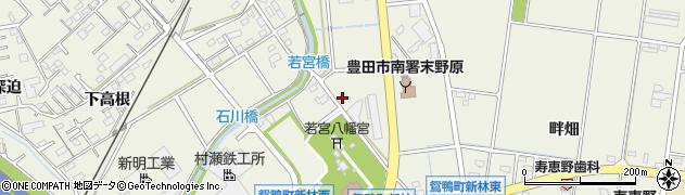 愛知県豊田市鴛鴨町(石川)周辺の地図