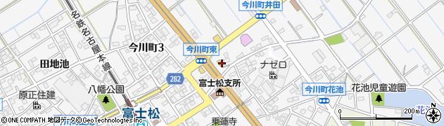 愛知県刈谷市今川町(西高山)周辺の地図