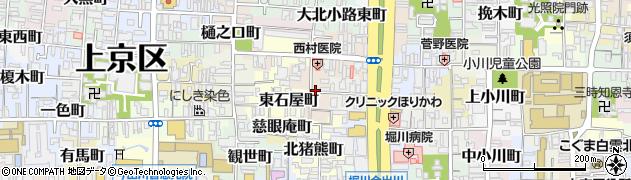 京都府京都市上京区藤木町周辺の地図