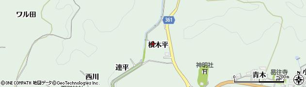 愛知県豊田市花沢町(根木平)周辺の地図
