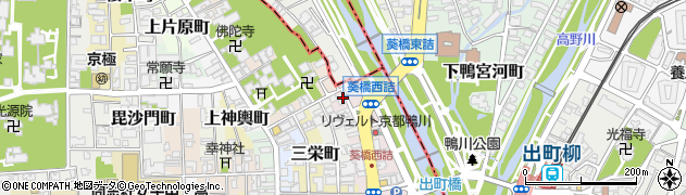 京都府京都市上京区青龍町周辺の地図