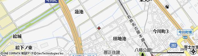 愛知県刈谷市今川町(蓮池)周辺の地図