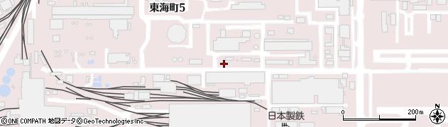 愛知県東海市東海町周辺の地図