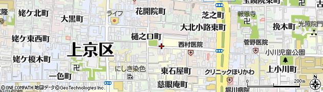 京都府京都市上京区阿弥陀寺町周辺の地図