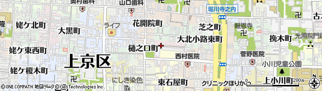 京都府京都市上京区曼陀羅町周辺の地図
