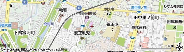 京都府京都市左京区田中玄京町周辺の地図