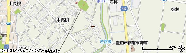 愛知県豊田市鴛鴨町(治林)周辺の地図
