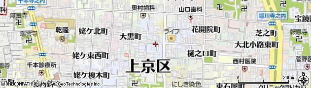 京都府京都市上京区伊佐町周辺の地図
