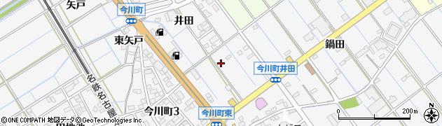 愛知県刈谷市今川町(井田)周辺の地図