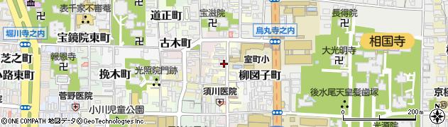 京都府京都市上京区室町頭町周辺の地図