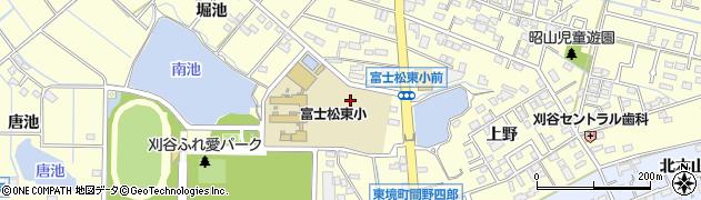 愛知県刈谷市東境町(池田)周辺の地図