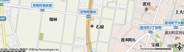 愛知県豊田市鴛鴨町(石根)周辺の地図