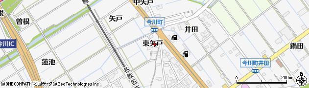愛知県刈谷市今川町(東矢戸)周辺の地図