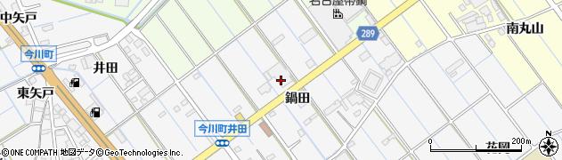 愛知県刈谷市今川町(鍋田)周辺の地図