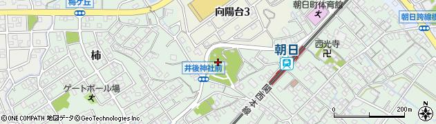 井後神社周辺の地図