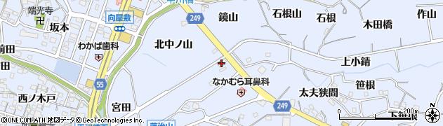 愛知県東海市荒尾町(小錆)周辺の地図