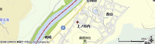 愛知県岡崎市桑原町(上ノ垣内)周辺の地図