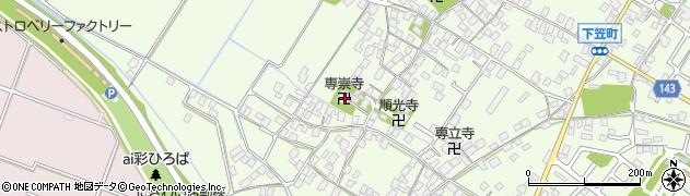 専崇寺周辺の地図