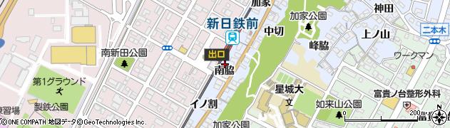 愛知県東海市荒尾町(南脇)周辺の地図
