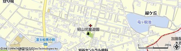 愛知県刈谷市東境町(昭山)周辺の地図