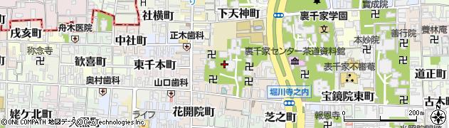 京都府京都市上京区妙蓮寺前町周辺の地図