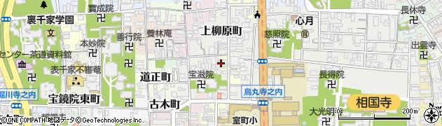 京都府京都市上京区下柳原北半町周辺の地図