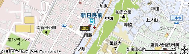 愛知県東海市荒尾町(イノ割)周辺の地図