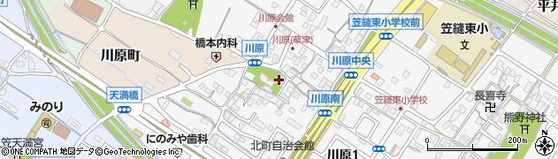 最勝寺周辺の地図