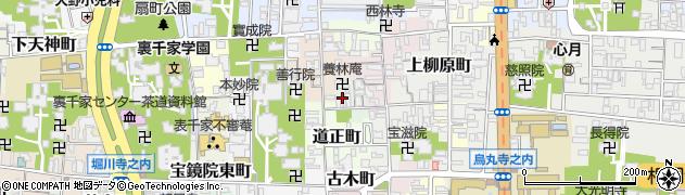 京都府京都市上京区畠中町周辺の地図