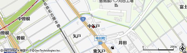 愛知県刈谷市今川町(中矢戸)周辺の地図