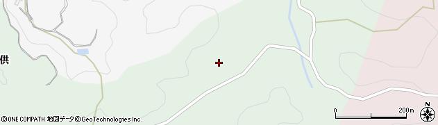 愛知県豊田市小松野町(中尾鷲)周辺の地図