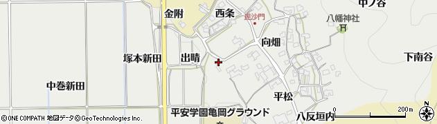 京都府亀岡市千歳町毘沙門(腰前)周辺の地図