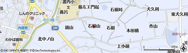 愛知県東海市荒尾町(石根山)周辺の地図