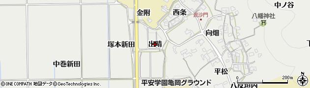 京都府亀岡市千歳町毘沙門(塚本)周辺の地図
