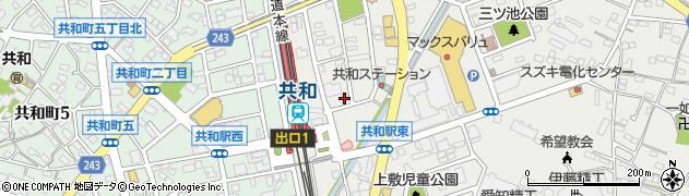 Shino周辺の地図