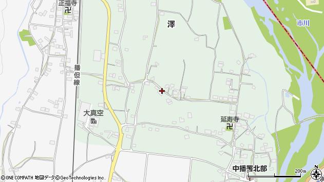 〒679-2336 兵庫県神崎郡市川町沢の地図