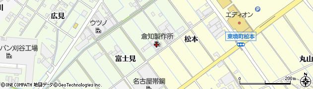 愛知県刈谷市西境町(富士見)周辺の地図